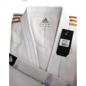 Seragam Baju Judo Gi Putih Adidas Club White/ Gold J350
