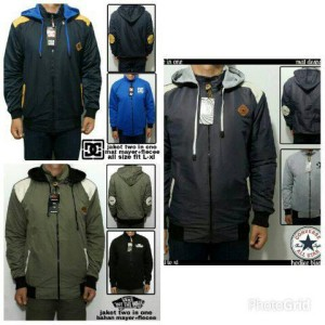 jaket two in one (bolak-balik)