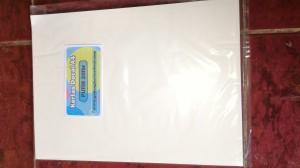 Kertas Decal A4 Putih