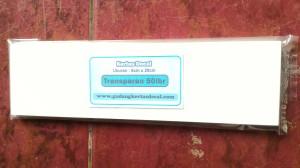 Kertas Decal Transparan.(uk:8cm X29cm) - 50lbr