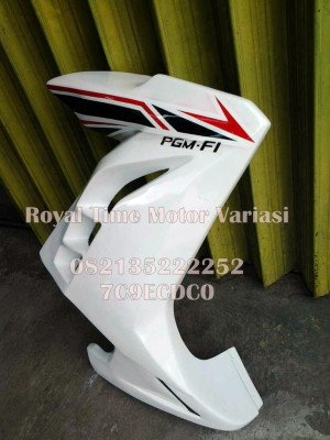 Half Fairing Verza model Ninja FI White Furios