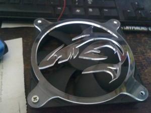Fan Grill Shark 120mm Acrylic