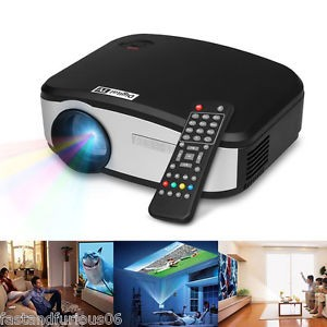 CHEERLUX C6 Mini Proyektor | Projector Portable LED LCD + TV