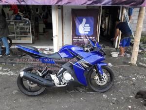Fairing R25 Full Set for New Vixion Blue Awakening