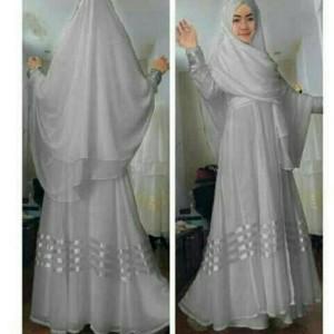 Jual Baju Muslim Gamis Maxi Syari Ayuna Bagus Murah