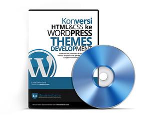 WEB DESAIN - Konversi HTML Dan CSS Ke Template Wordpress