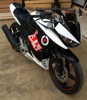 Full Fairing R25 V1 mix Body R25 V2 Black Street Racing