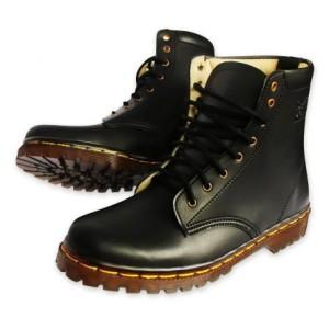Sepatu Boots boot kulit Docmart Dr Martens pria wanita 8 lubang / hole