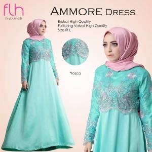 Baju Pesta Wanita Muslimah Terbaru Premium Original