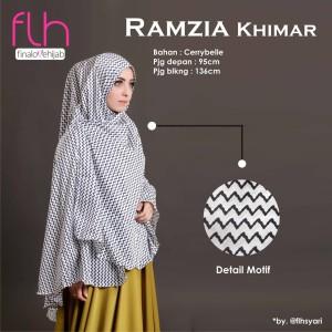 Khimar Syari Terbaru Original Ramzia Ori by FLH