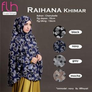 Jilbab Syari Khimar Raihana Original