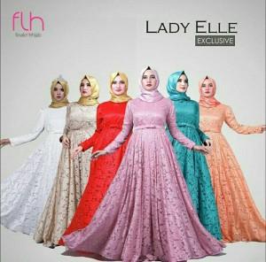 Hijab Pesta Muslimah Premium Exclusive Original