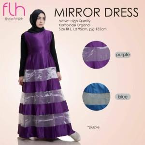 Dress Cantik Mirror Original by FLH