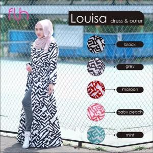 Dress Cantik Louisa Original by FLH