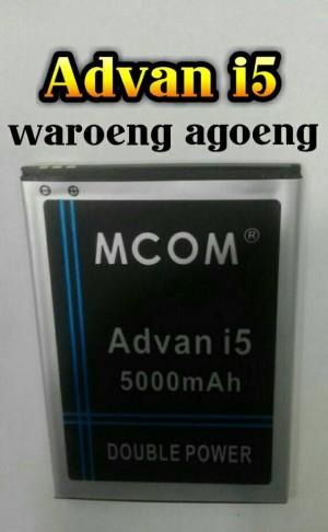 Baterai M-COM For Advan i5 Double power 5000mAh