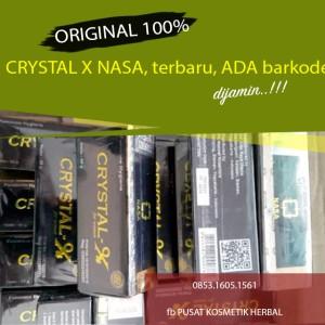NATURAL CRYSTAL X HARGA GROSIR