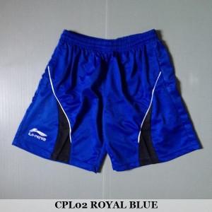 Celana Pendek Olahraga Badminton Bulutangkis Lining CPL02 Royal Black