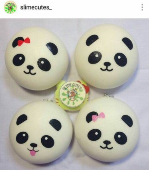 Squishy Dan Slime : Jual Squishy jumbo panda bun - Slime Cutes Tokopedia