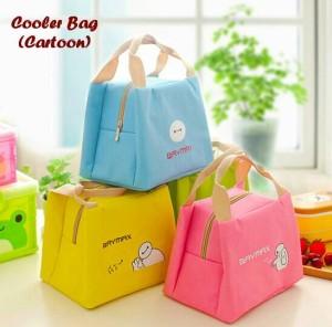 Cooler Bag Cartoon /Tas Panas/Dingin, Cocok Untuk simpan Asi