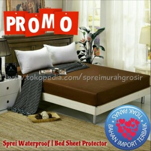 sprei anti air bahan import terbaik uk 70x200x20cm water proof