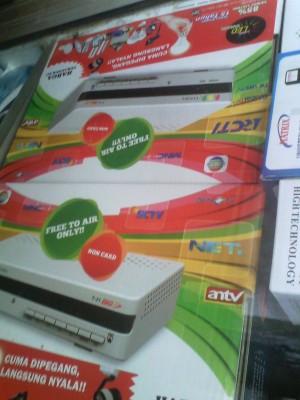 Receiver Parabola TV Mpeg4 Tanaka T21 Big Tv FTA bisa Nindmedia