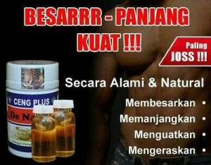 ulasan produk obat pembesar alat vital pria secara alami cv