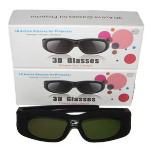 Kacamata 3D DLP untuk Semua Projector 3D DLP BenQ, Optoma, Epson, Sony