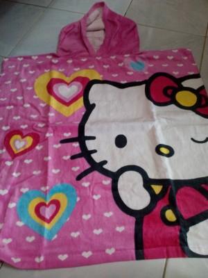 handuk poncong anak karakter