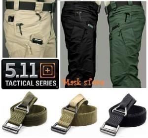 Celana Tactical + Ikat pinggang Blackhawk