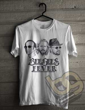Kaos Band Beegees Exclusive Murah