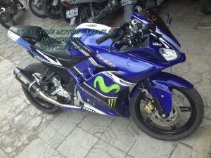Fairing R125 mix Ninja FI Blue Full Livery