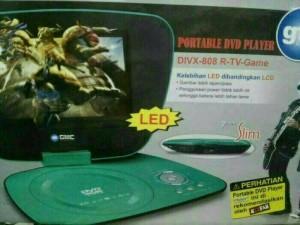DVD TV GAME PORTABEL GMC 7IN