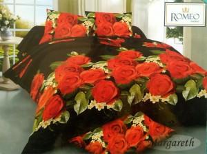 Sprei Romeo ukuran 120 x 200 / No.3 – Margareth