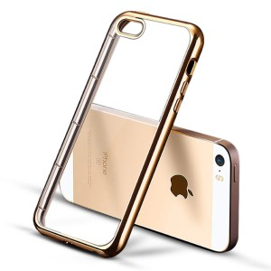 Softcase with Plating Iphone 5 / 5S  / Softcover/ Backcover