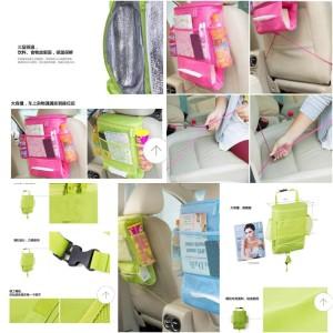 Car Seat Organizer - Rak Gantung Serbaguna Mobil / Penahan Panas