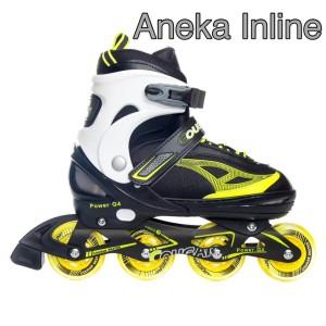 Jual Sepatu Roda COUGAR Power G4 Yellow Black Recreational Inline ... a47f68fb9c