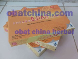 Fufang Ejiao Jiang obat anti DBD, anemia, pusing pusing, penambah darah dan stamina