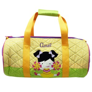 "Tas Travel Duffel ""Cheers"" Free Bordir Nama by Char & Coll Gift"