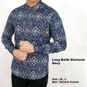 Jual Kemeja Pria Pesta Resmi Baju Batik Lengan Panjang Formal