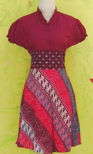 Dress Batik LYNNE KEMBANG API ^^
