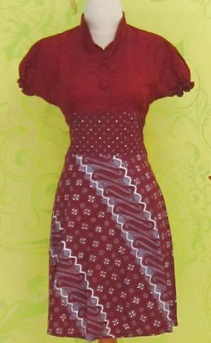Dress Batik Katun Primis LYNNE BINTIK PARANG ^^