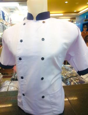 Seragam Baju Koki / Chef