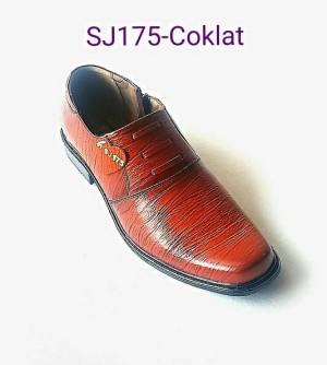 PDH SJ175- Cokelat | Sepatu Kulit H.Q | Made Of MAJAPAHIT Indonesia