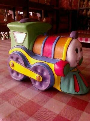 Jual Mewarnai Sendiri Celengan Thomas Kereta Api Untuk Anak Kreatif