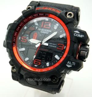 G-Shock GWG-1000 Black List Red