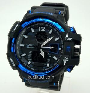 G-Shock GWA 1100 II Black Blue