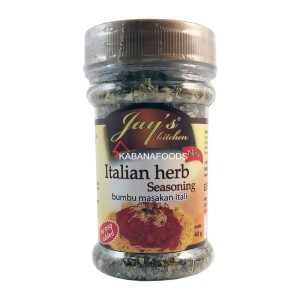 Bumbu Masakan Italia Jay's Italian Herb Seasoning Non MSG 40g