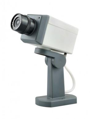 Fake Dummy Surveillance CCTV Camera with Motion Sensor