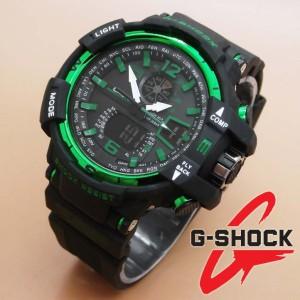 G-Shock GWA 1100 II Black Green