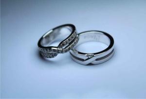 Jual harga cincin kawin emas putih 14k   palladium 95 ... 46d87752bc